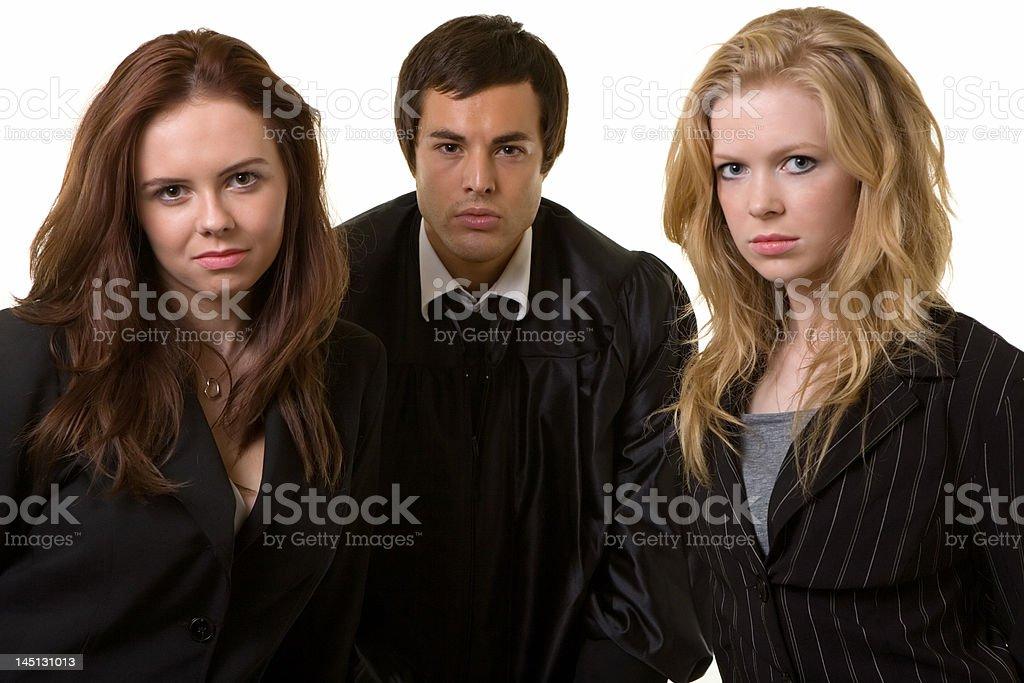 Legal team stock photo