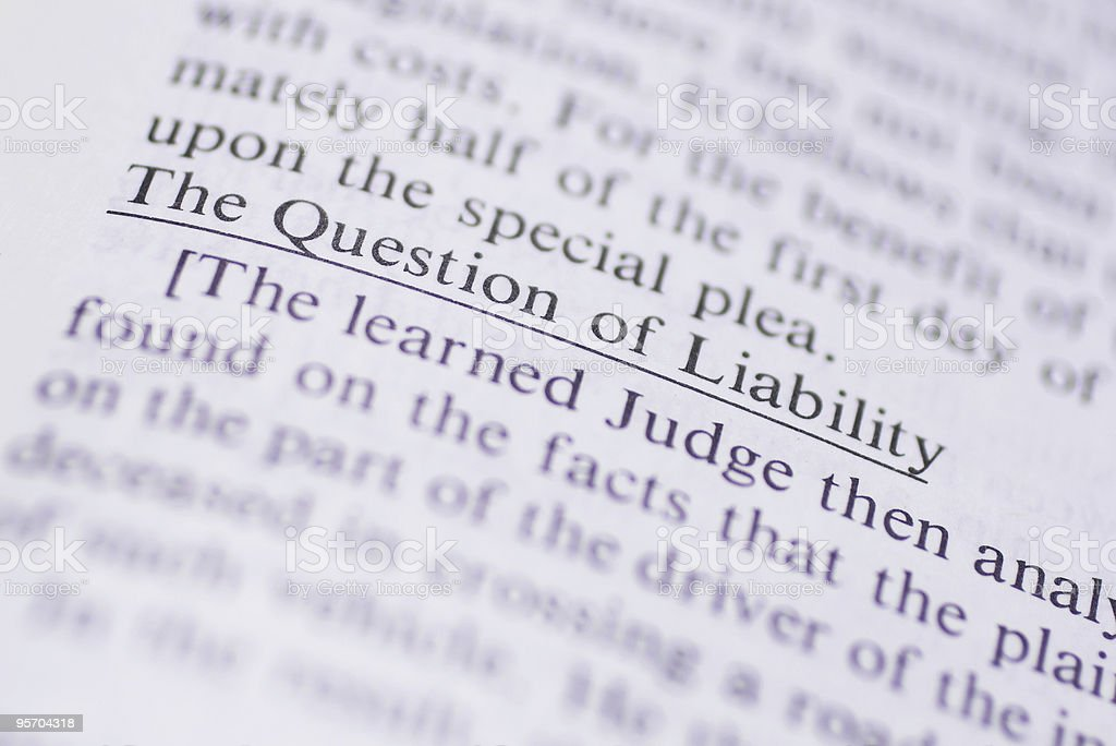Legal Terms royalty-free stock photo