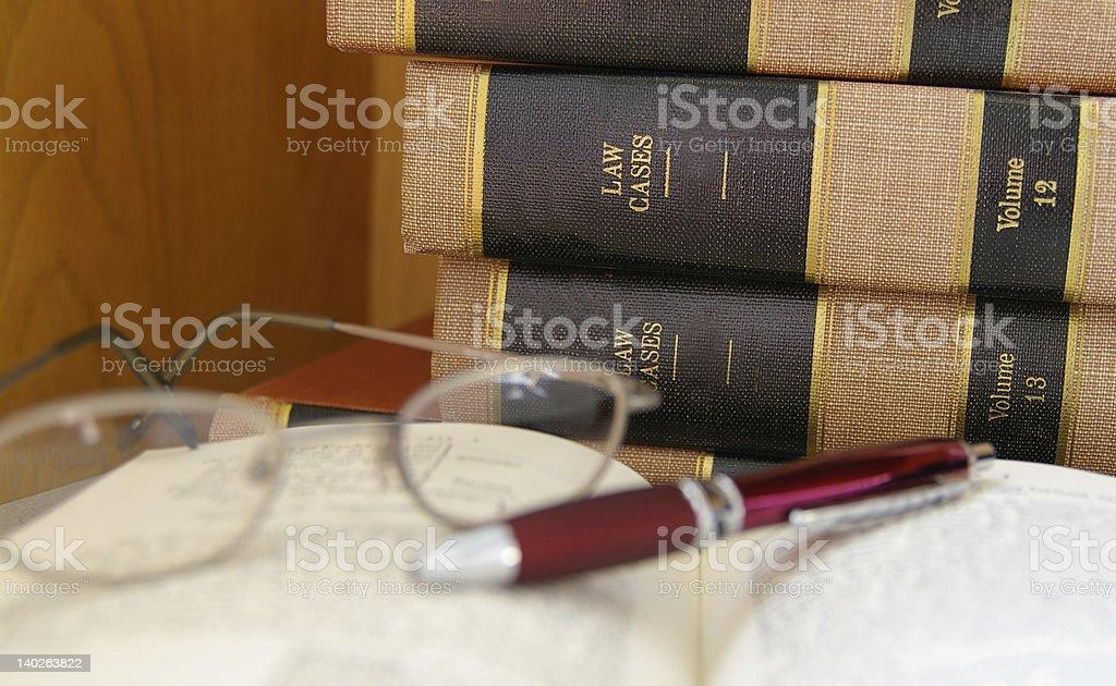 Legal work stock photo