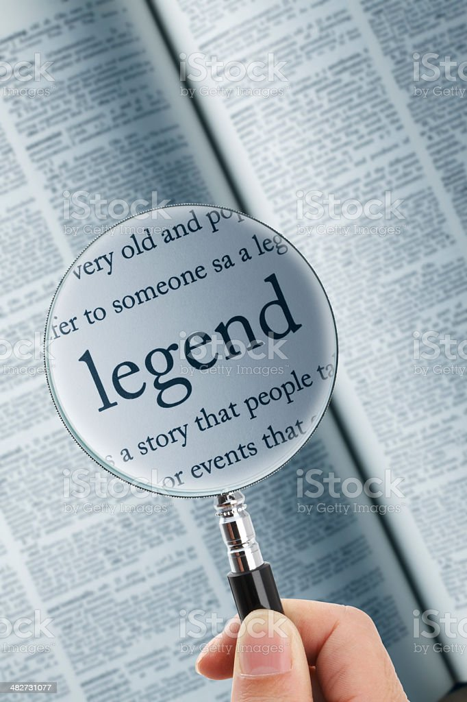 legend royalty-free stock photo