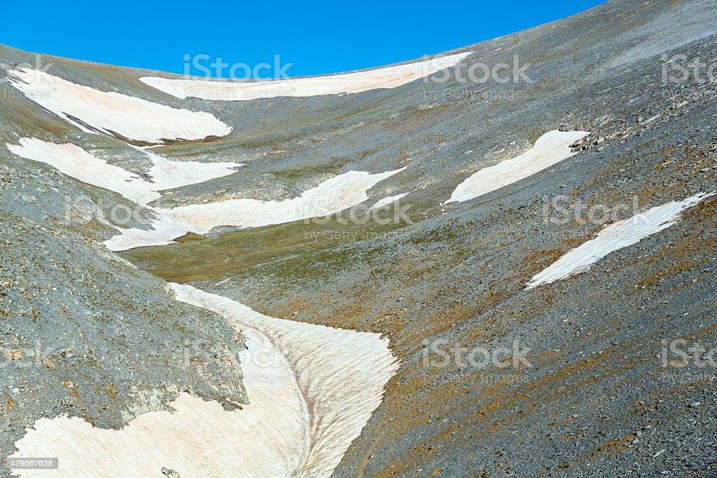 Legendary Mt Olympus in Greece stock photo