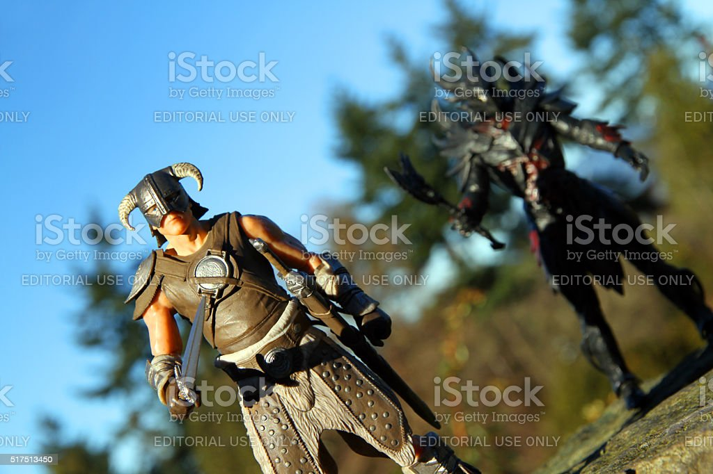 Legends on the Land stock photo