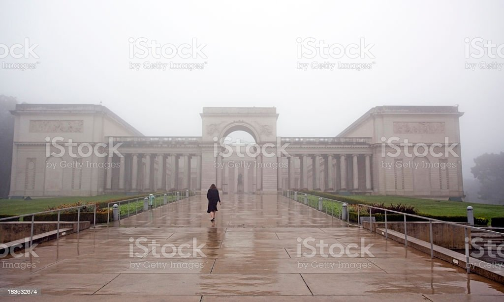 Legion of Honor royalty-free stock photo