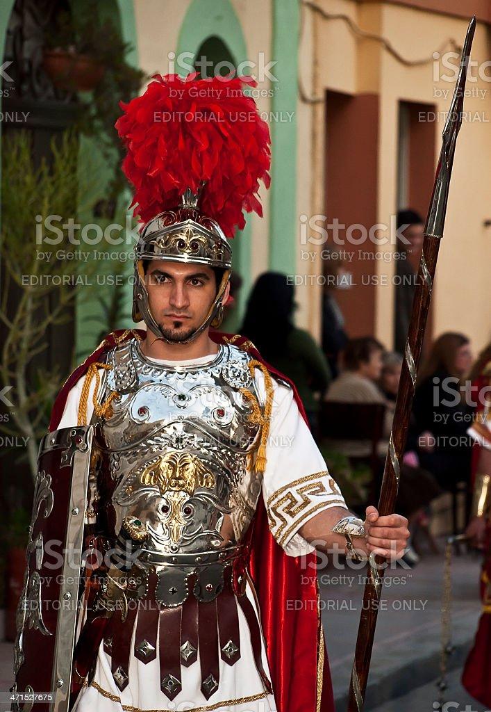 Legionnaire royalty-free stock photo