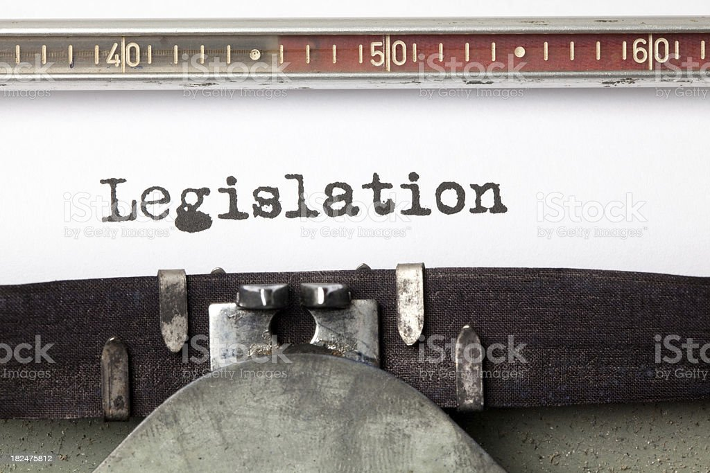 Legislation royalty-free stock photo