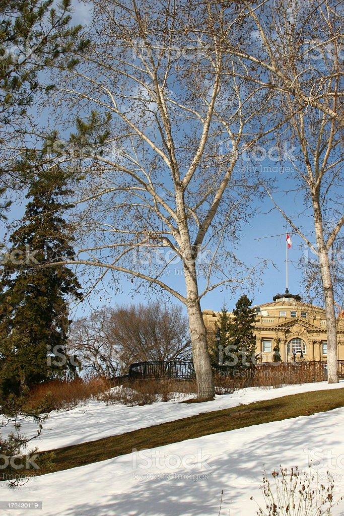 Legislative Assembly Park royalty-free stock photo