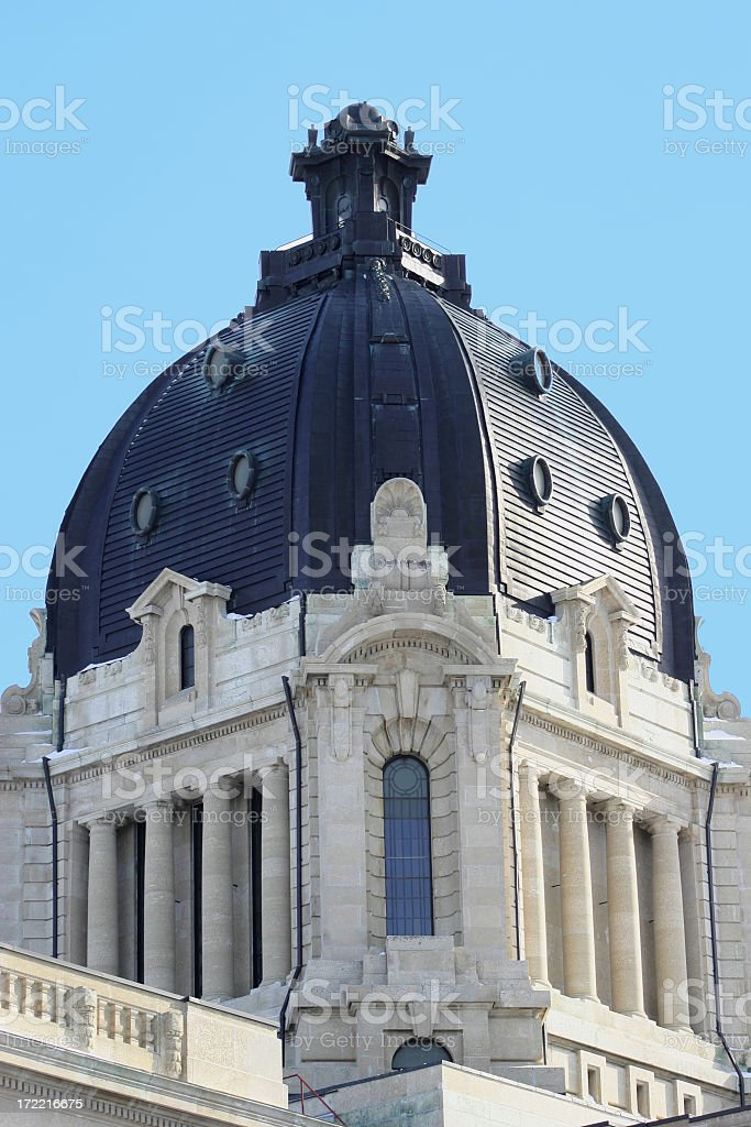 Legislative Dome royalty-free stock photo
