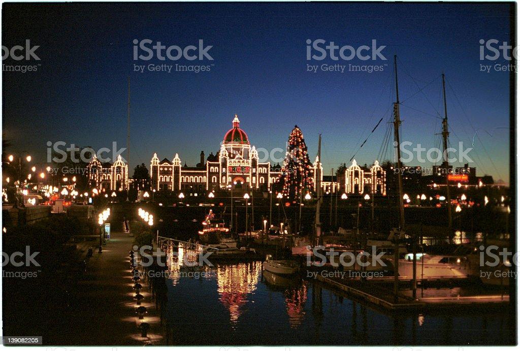 Legislature in Victoria stock photo
