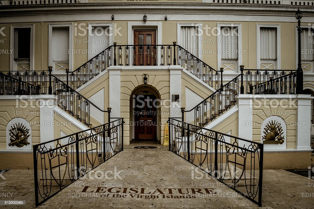 Legislature of US Virgin Islands stock photo