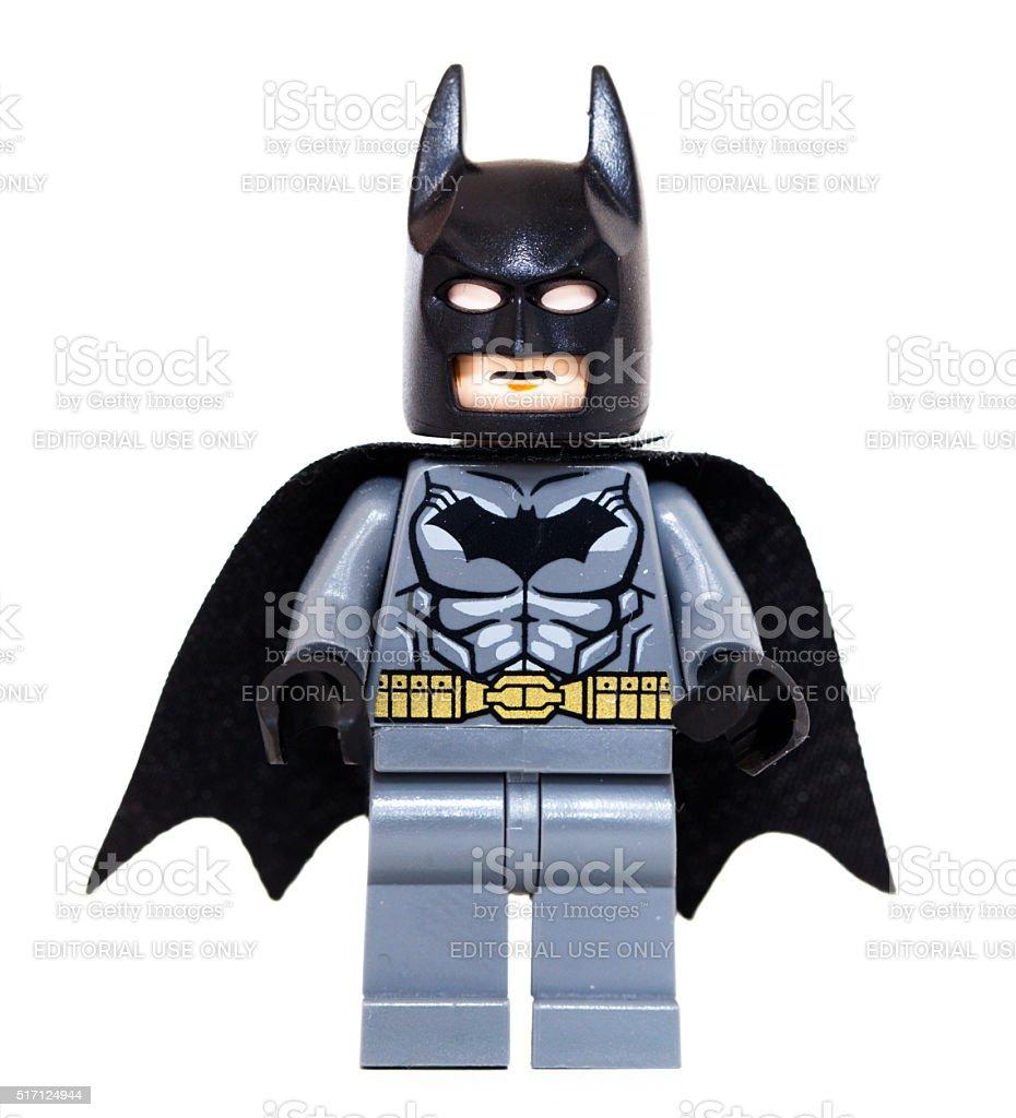 Lego Batman. stock photo