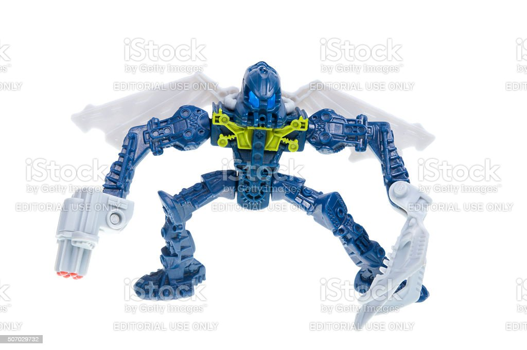 Lego Bionicles Toa Hahli 2007 Happy Meal Toy stock photo