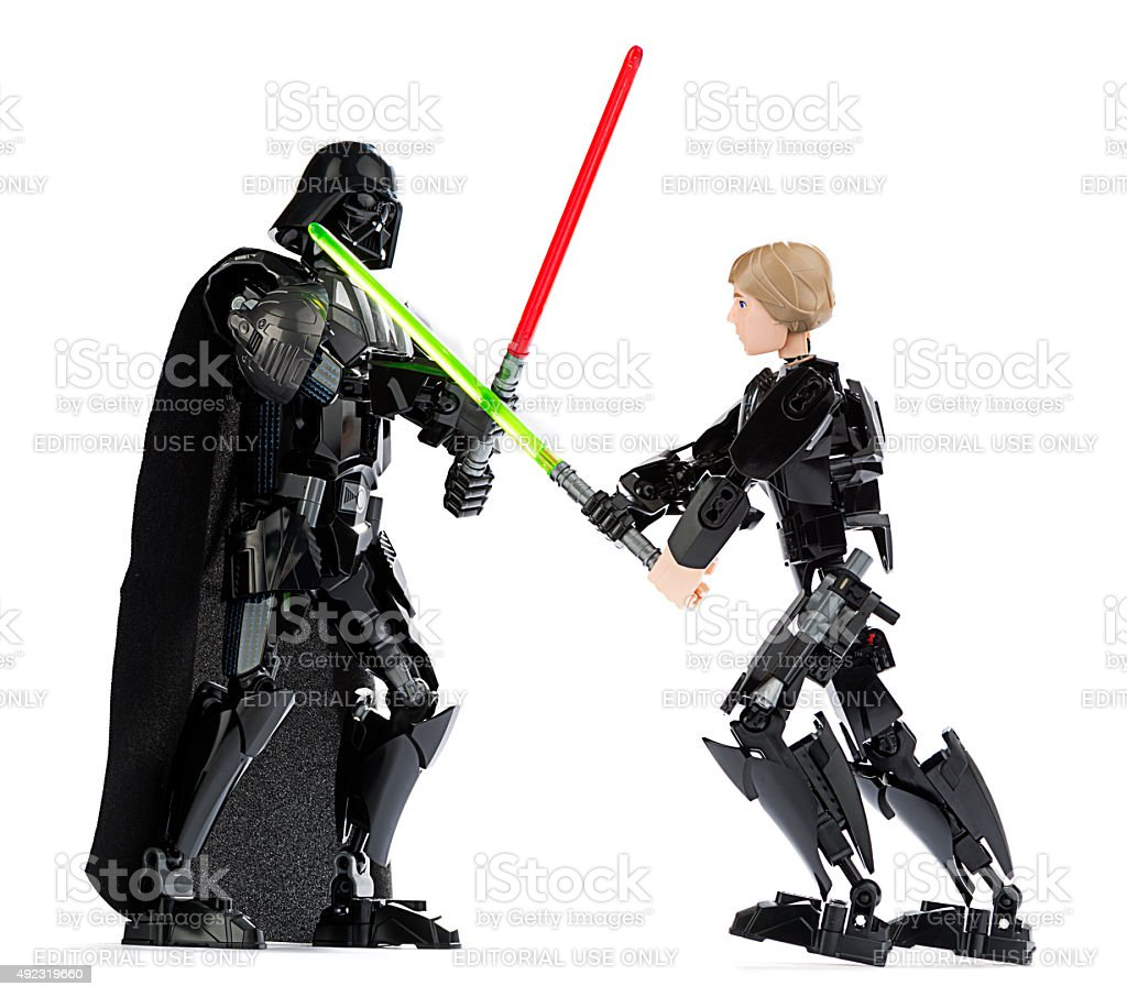 Darth Vader Vs Luke Skywalker Pictures, Images and Stock Photos - iStock