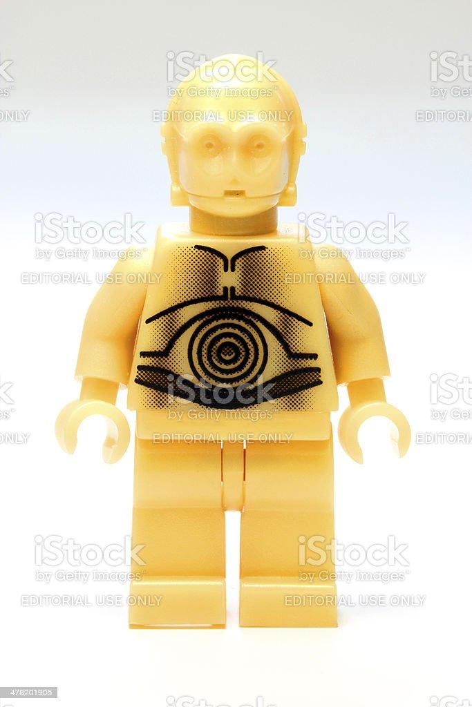 Lego Droid stock photo
