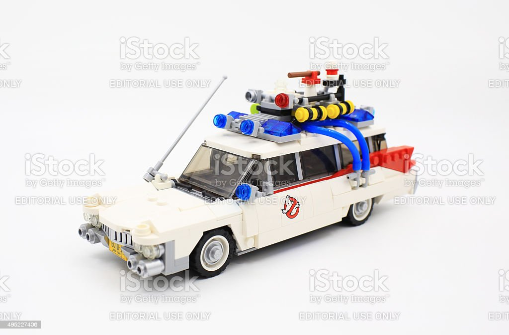 Lego ghostbuster stock photo