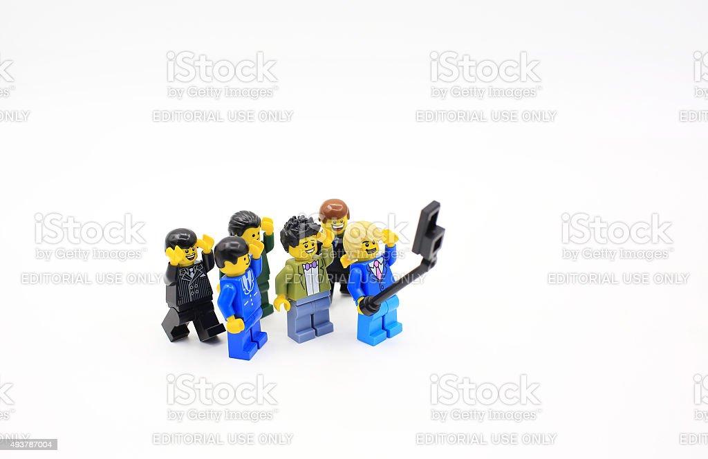 lego man stock photo