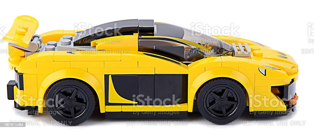 Lego Sports Car Side View Stock Photo Istock