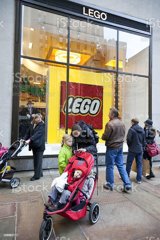 Lego store NYC # 4 XXXL royalty-free stock photo