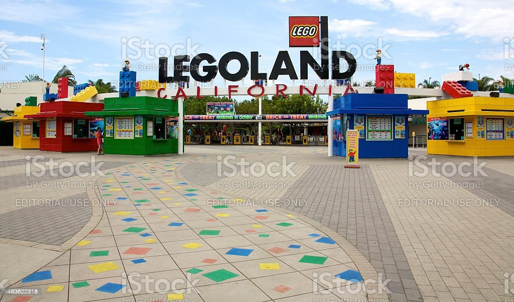 Legoland California stock photo
