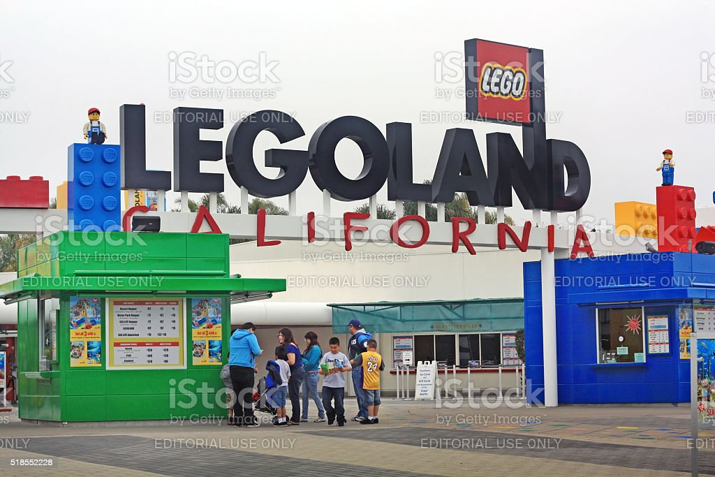 Legoland, California stock photo