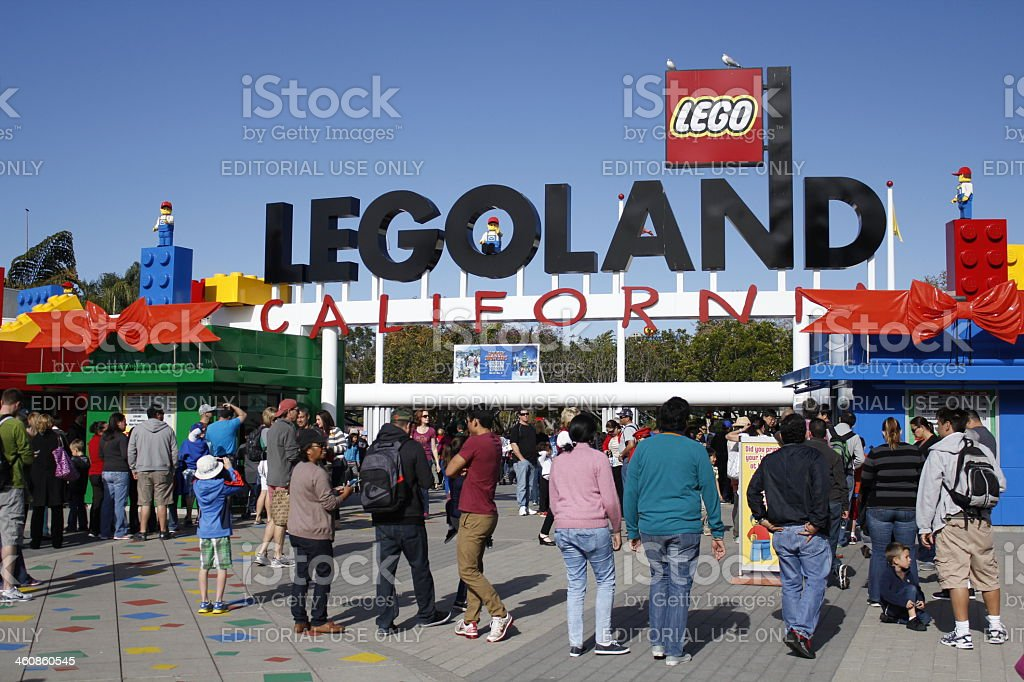 Legoland, California Theme Park Hotel stock photo