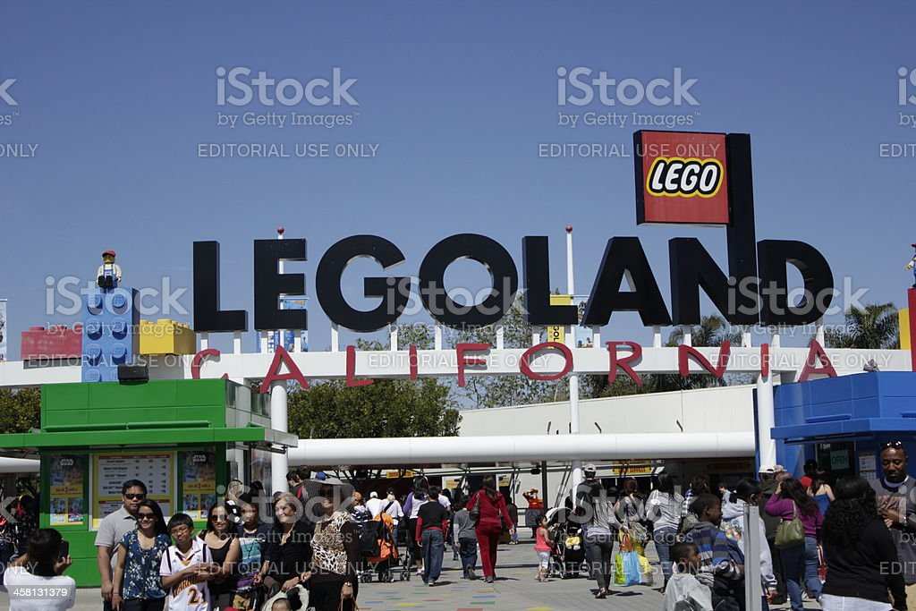 Legoland, California Theme Park stock photo