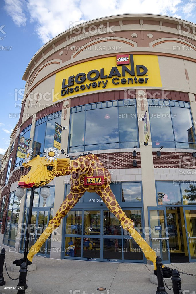 Legoland discovery center stock photo