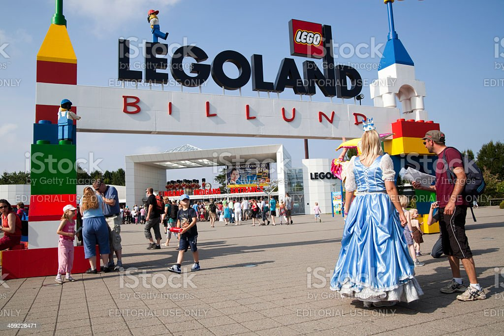 Legoland Entrance stock photo