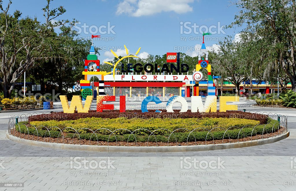 Legoland Florida stock photo