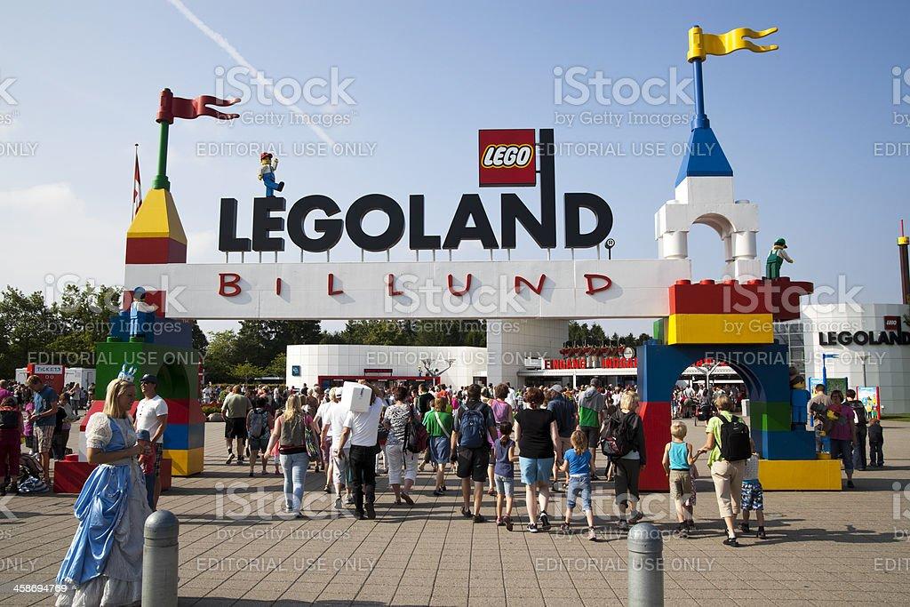 Legoland stock photo