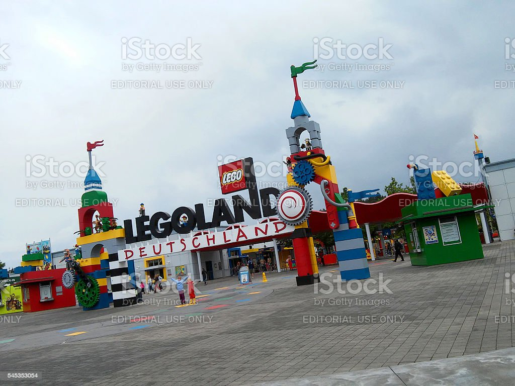Legoland stock photo