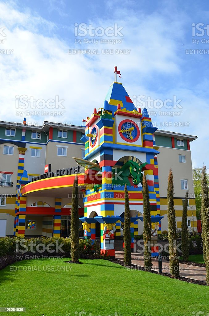 Legoland Resort Hotel Windsor stock photo