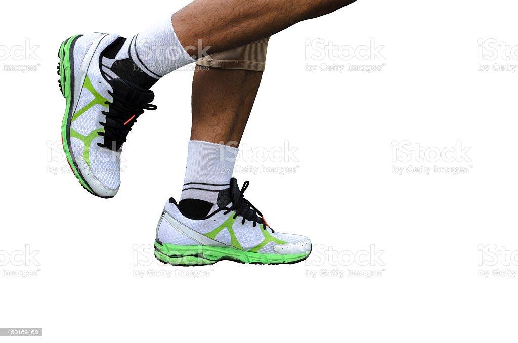Nogi runner zbiór zdjęć royalty-free