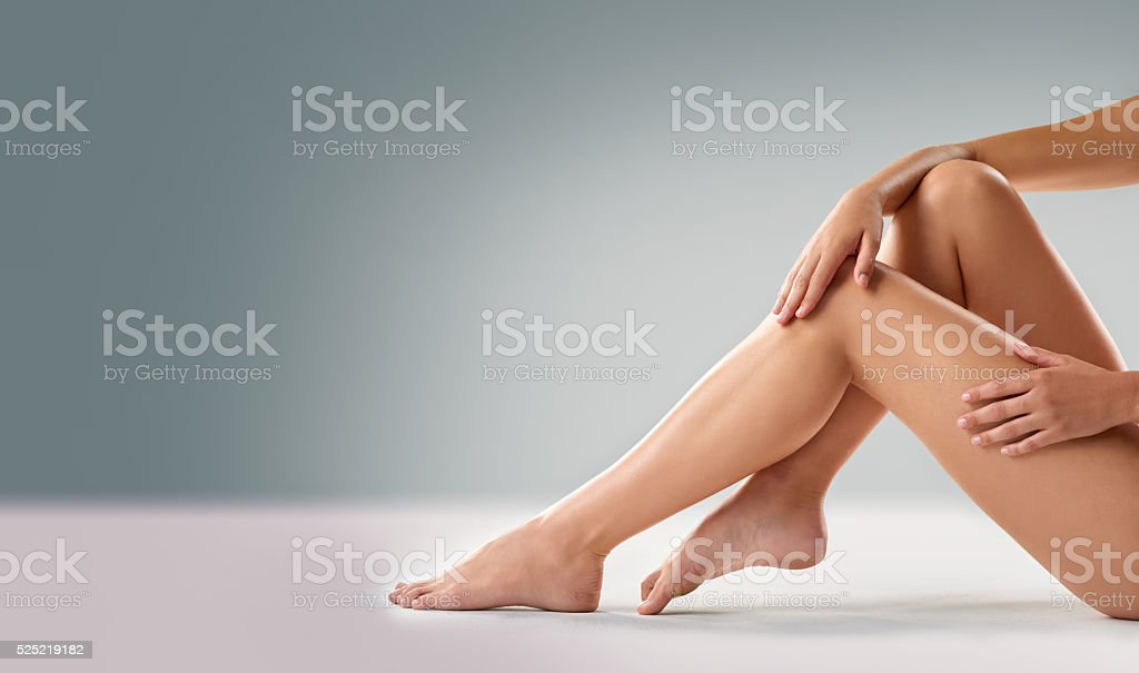 Legs to die for stock photo