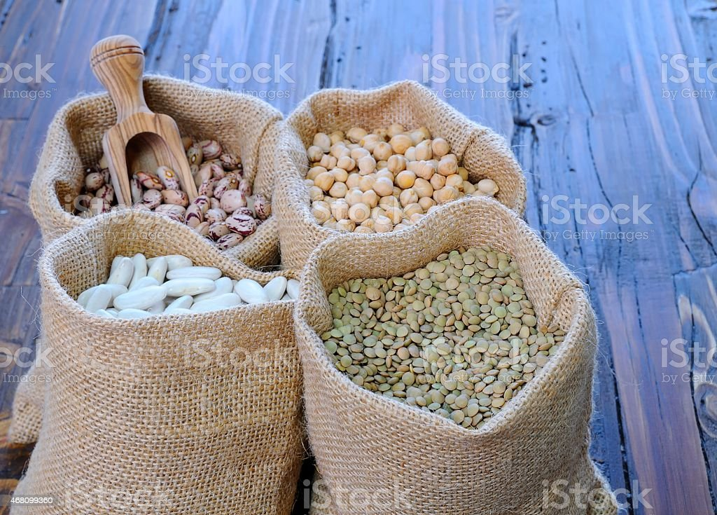 Legumes. stock photo