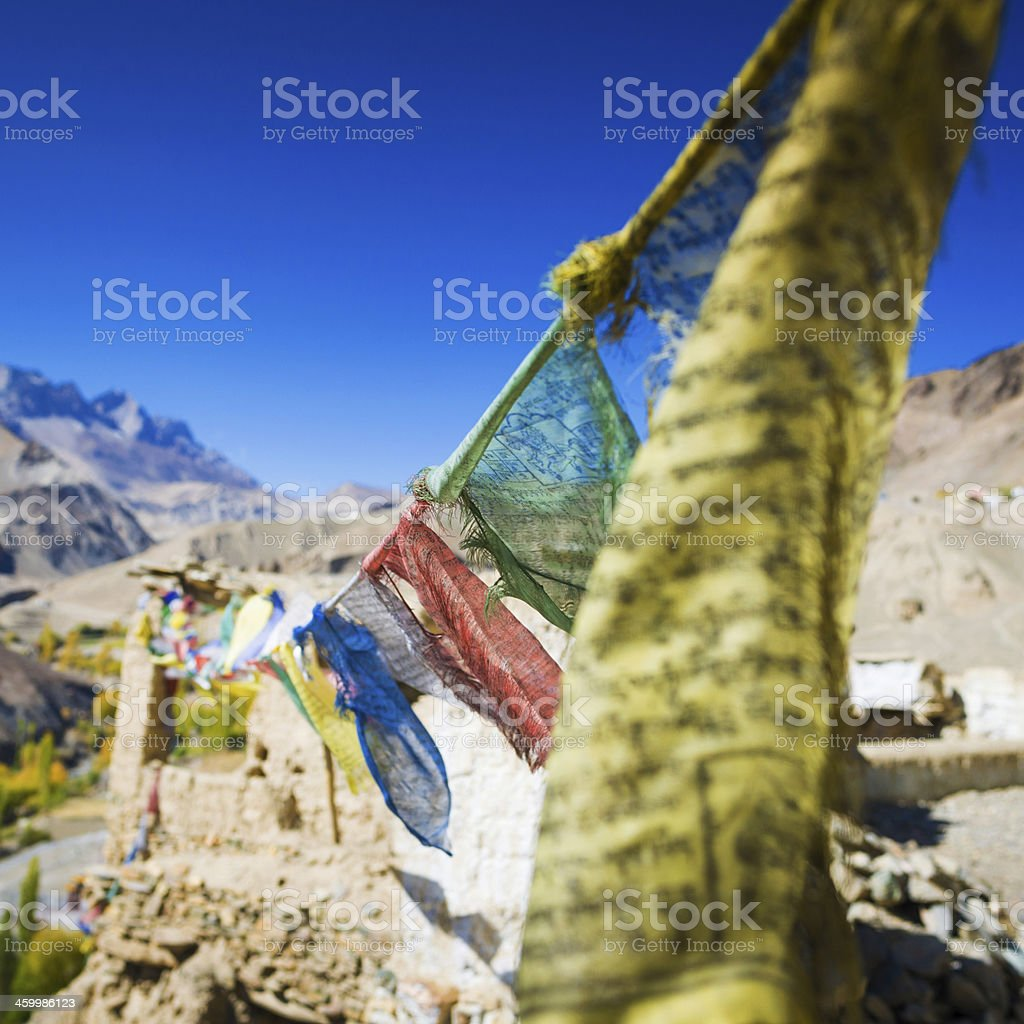 Leh in Ladakh the far Norther part of India royalty-free stock photo