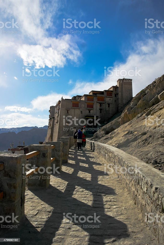 Leh Palace - Ladakh - Jammu and Kashmir - India stock photo