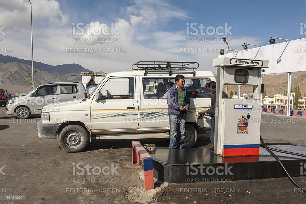 Leh town,Ladakh,India. royalty-free stock photo