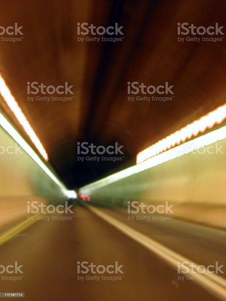 lehigh tunnel stock photo