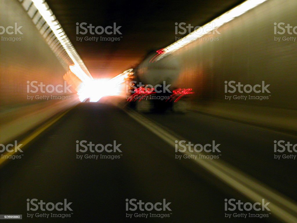 lehigh tunnel royalty-free stock photo