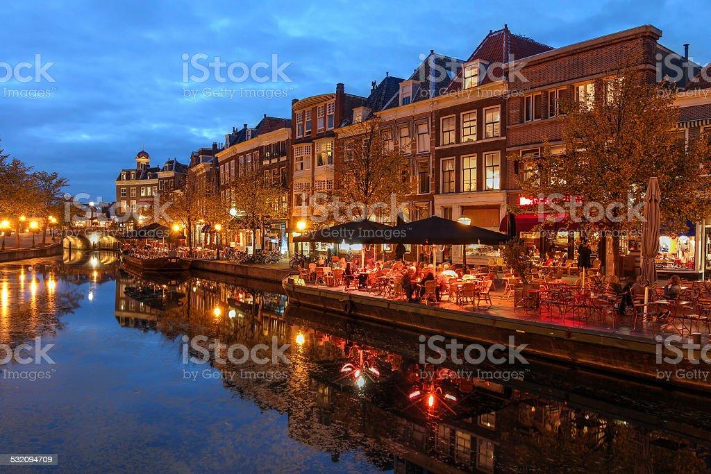 Leiden, Netherlands stock photo