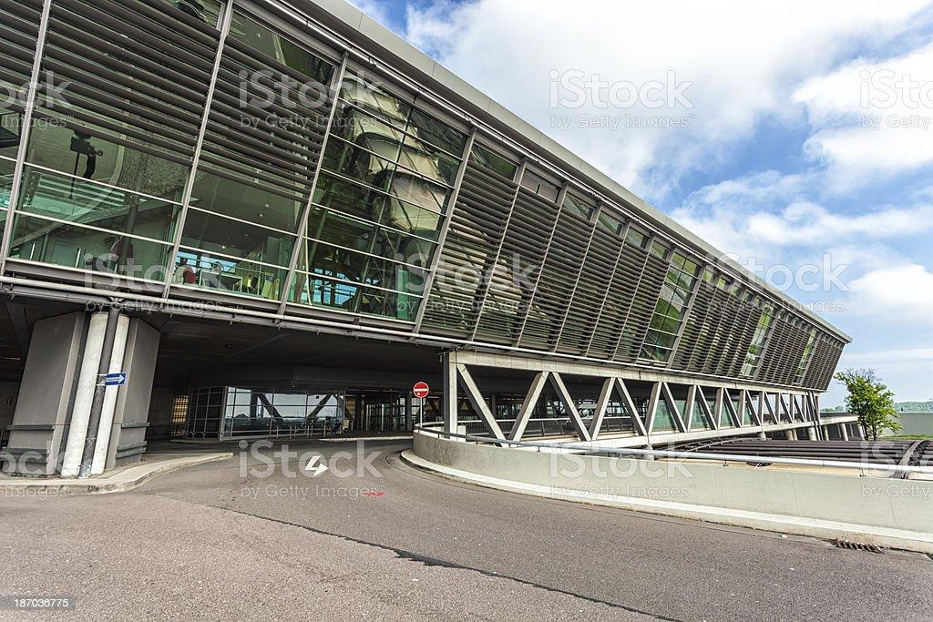 Leipzig Airport stock photo