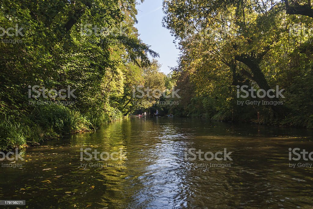 Leipzig channel royalty-free stock photo