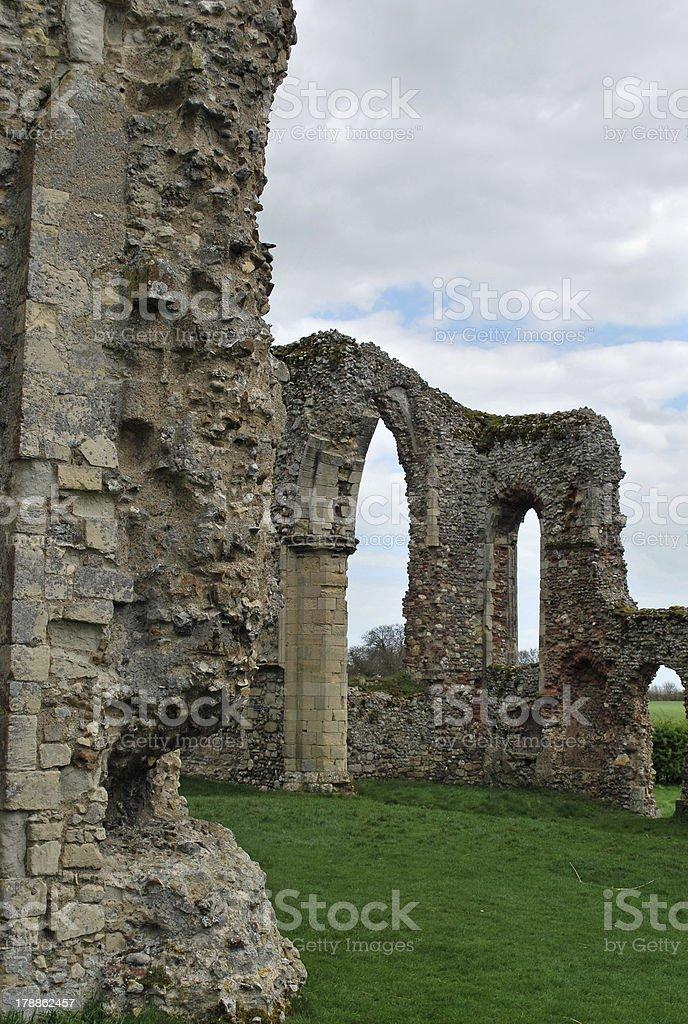 Leiston Abbey royalty-free stock photo