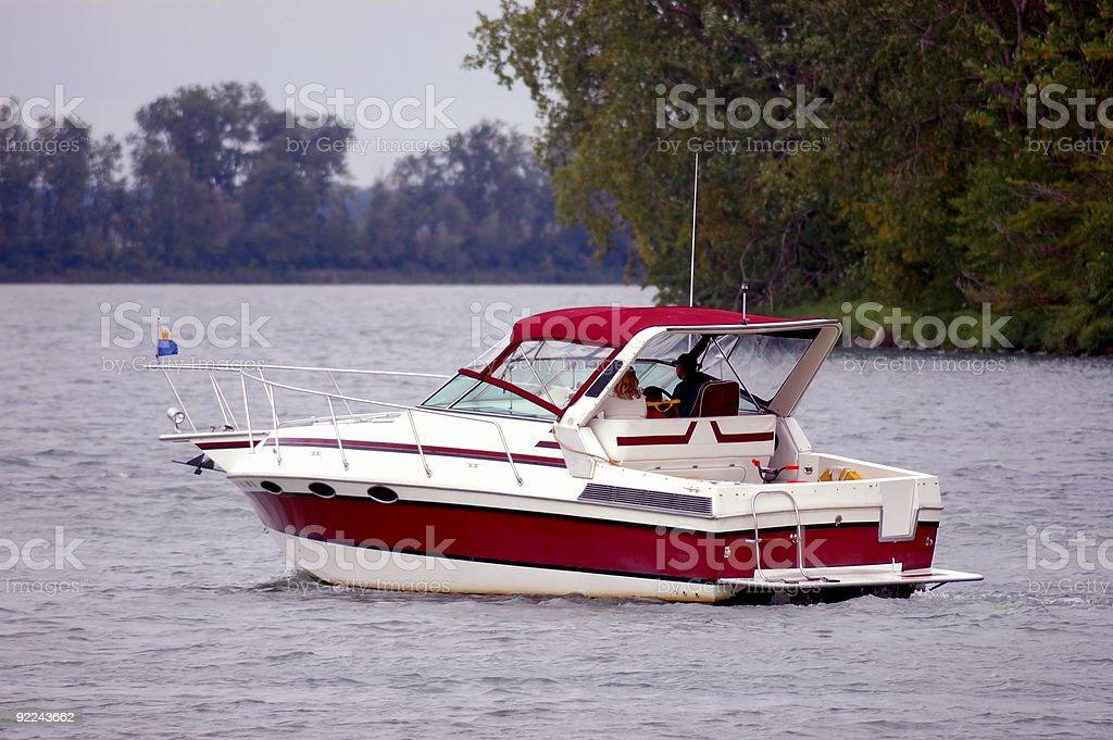 Leisure Boating stock photo