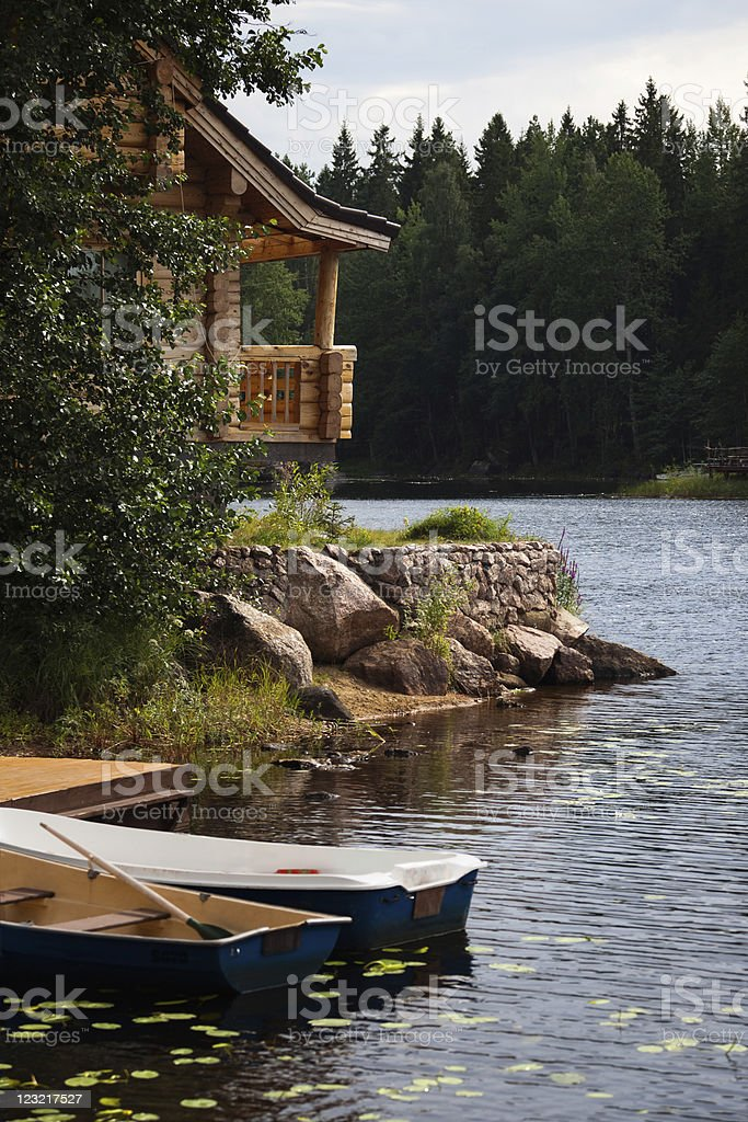 Leisure camp royalty-free stock photo