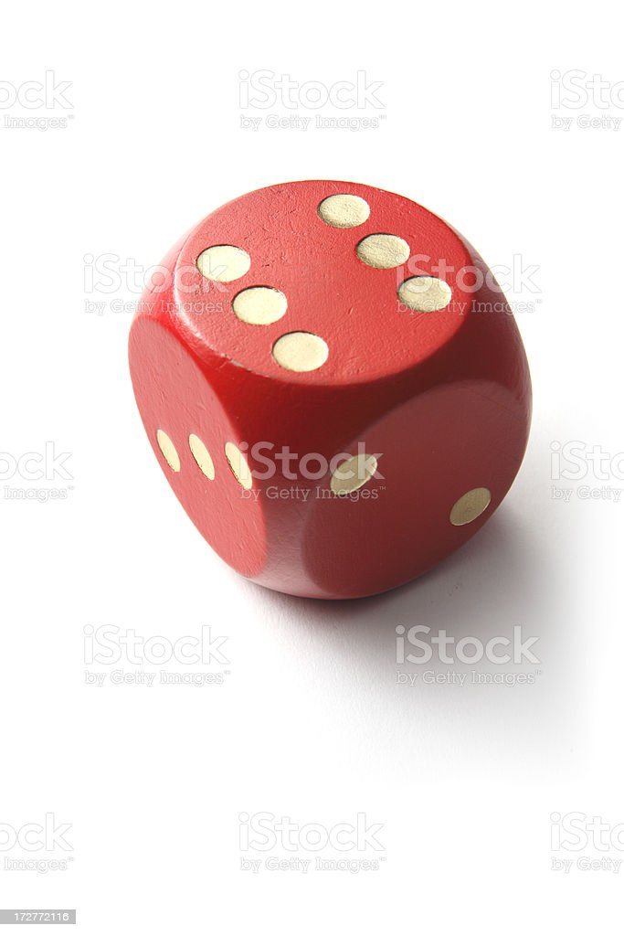 Leisure: Dices royalty-free stock photo