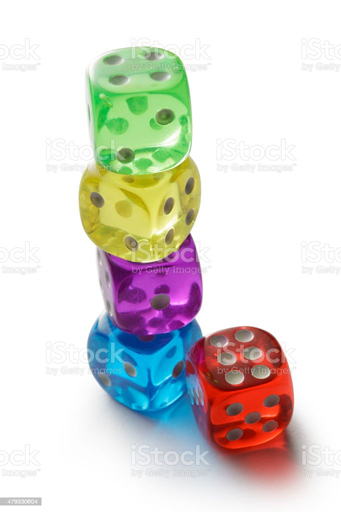 Leisure: Dices stock photo