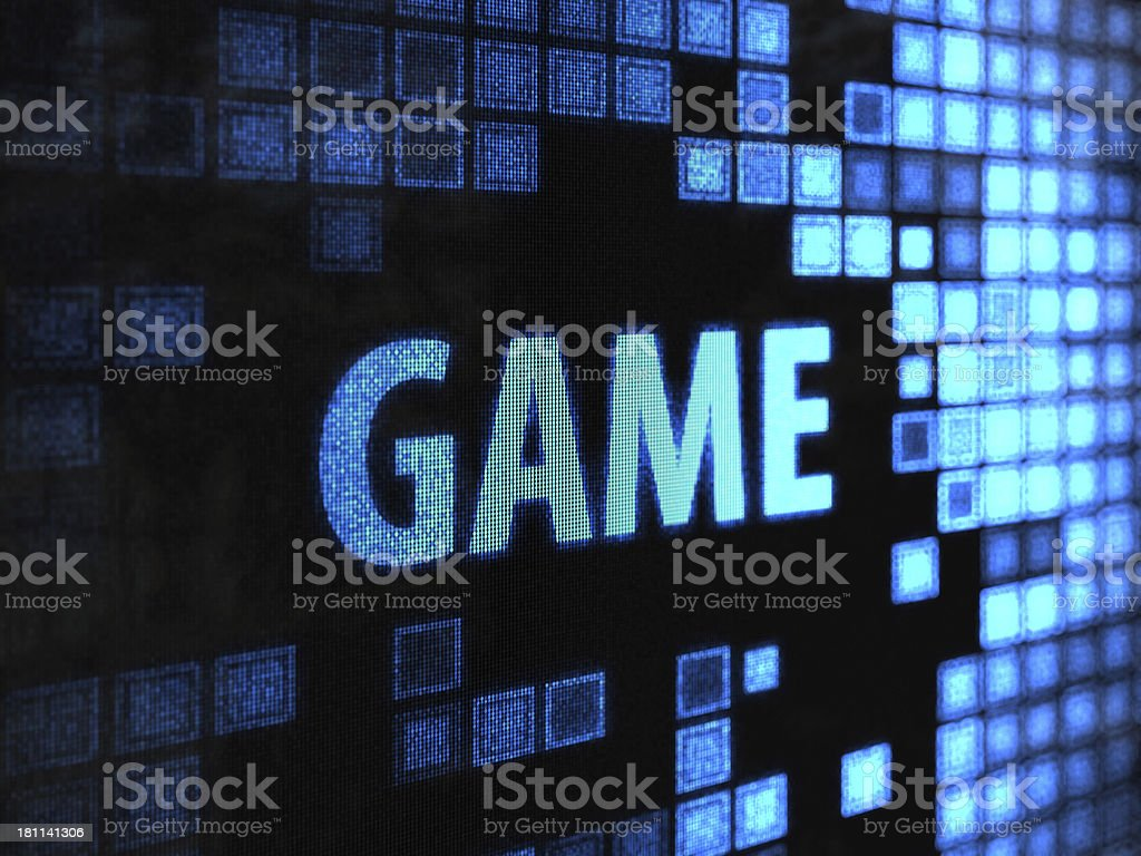 Leisure Games royalty-free stock photo
