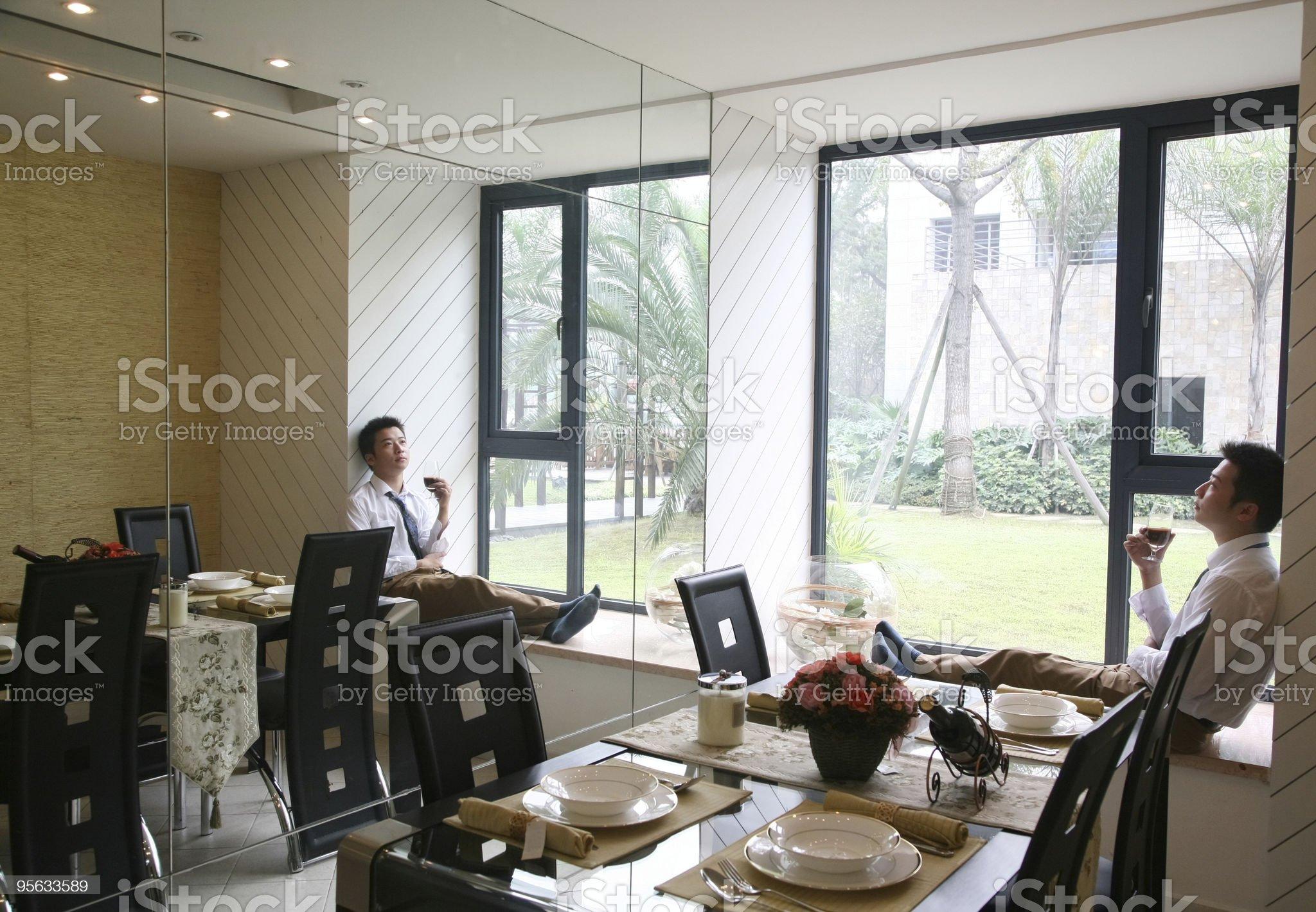 Leisure man royalty-free stock photo