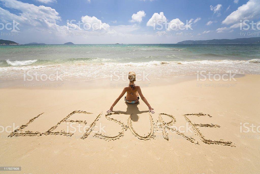 leisure royalty-free stock photo